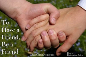 Hold My Hand - Elizabeth Ann Collette - Be a Friend