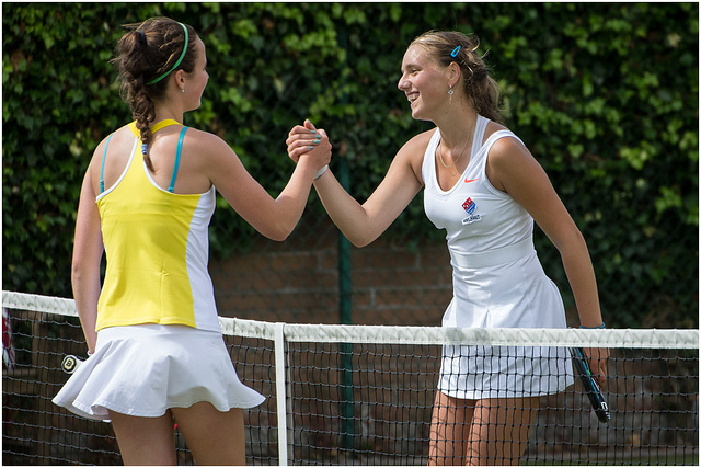 Tennis Friends - photo by Windsor Tennis Club Belfast