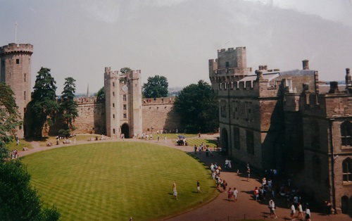 Warwick Castle. Photo by Elle Carter Neal.