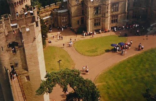 Warwick Castle, photo by Elle Carter Neal